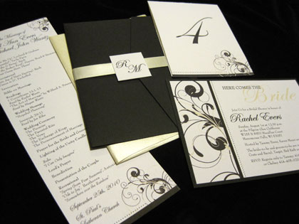 Milwaukee Wedding Invitations and Programs