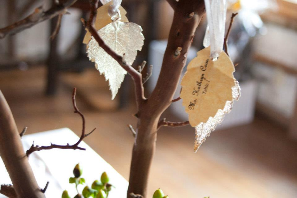 Birch Tree Themed Wedding